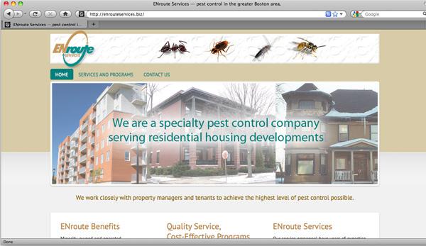 ENroute Services website