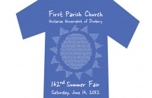 Summer Fair t-shirt, First Parish Church