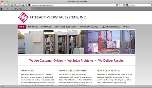Interactive Digital Systems