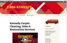 Kennedy Carpet website – easy to edit!