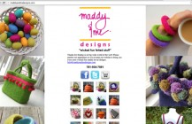 maddy and me designs – landing page