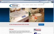 Rizzo Plumbing & Heating website