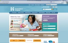South Shore Hospital's new website