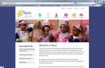 So Shore Stars website, allows editing