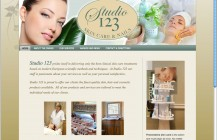 Studio 123 skin care branding package