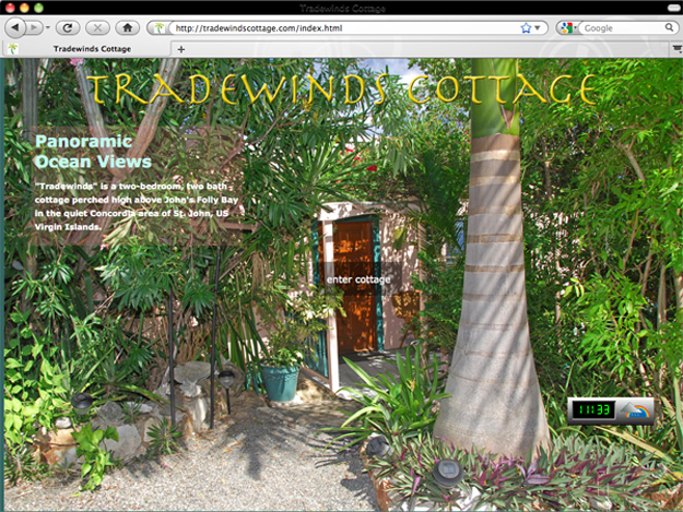 Tradewinds Cottage St. John USVI