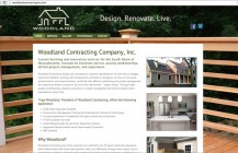 Woodland Contracting new website