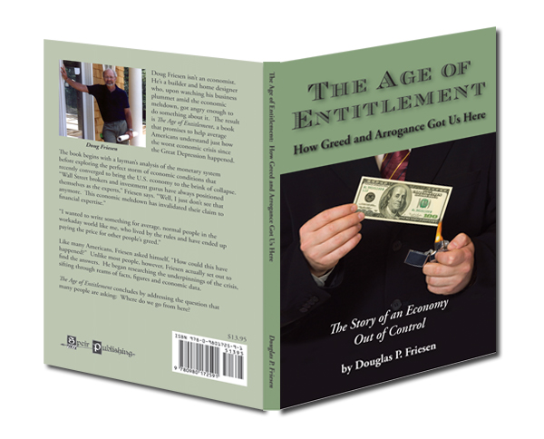 """The Age of Entitlement"" book on the economic collapse of 2008"