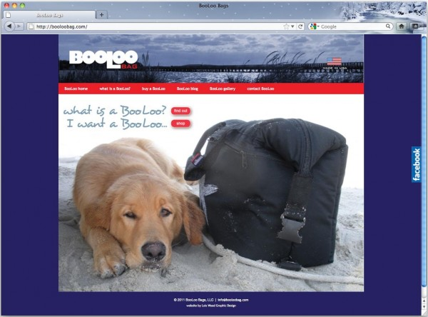 BooLoo Bags website