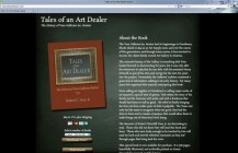 """Tales of an Art Dealer"" book"