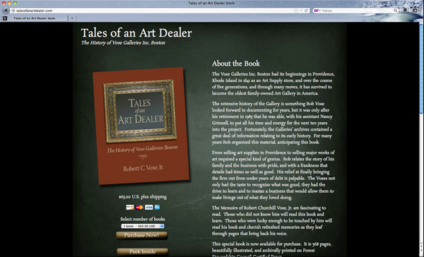 Tales of an Art Dealer book