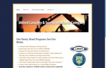 United Casualty & Surety new website